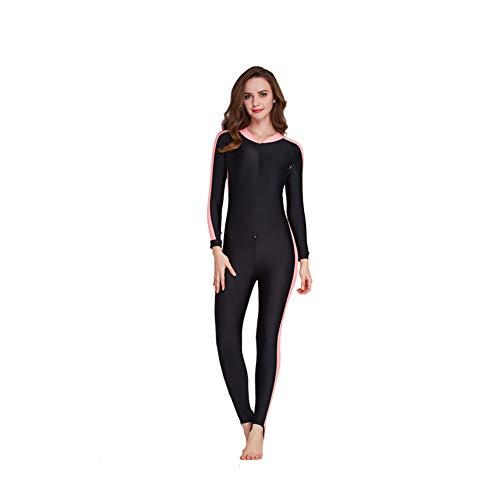 DMDMJY Männer Frauen Ganzkörper-Langarm-Dive Wetsuit Rash Guard UV-Schutz Einteilige Badebekleidung Für Schnorcheln Scuba Kajak Segeln,d,S