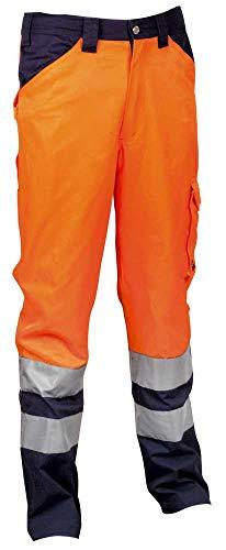 Cofra ENCKE Arbeitskleidung Hosen, Orange / Navy, Größe XXXL, V291-0-02A