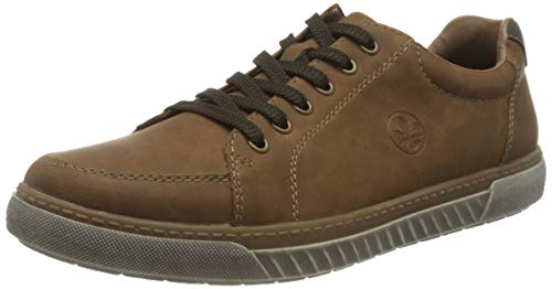Rieker Herren 17901 Sneaker, braun, 45 EU