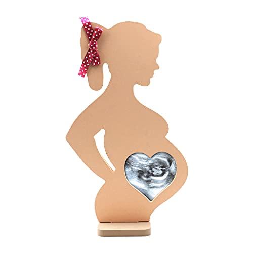 Nobranded Bebé ultrasonido Foto Marco Sonogram Foto Marco Embarazo Regalo bebé Anuncio Recuerdo para Parejas Nueva mamá Dady