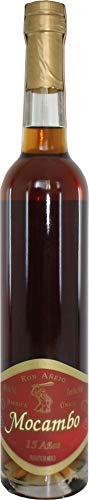 Premium Rum aus Mexiko, Single Barrel, 15 Jahre Lagerung, Flasche 500ml - Ron Añejo MOCAMBO 15 Años, 40{4dcd36bc5ac30d4c840c6bbe7bf7e39b41ef33655bf0c89c3ff4ea98ea4d78a6} vol, 500ml
