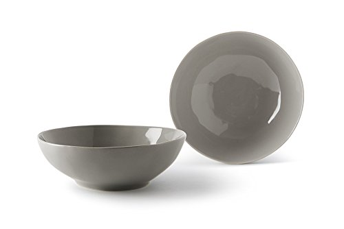 Fill Salbei Set 4Stück Teller aus Steinzeug, Keramik, Quarz, 17.5x 17.5x 6cm
