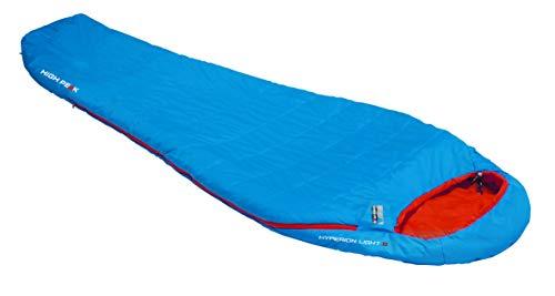 Bleu High Peak 23110 Sac de Couchage Mixte Adulte 220 x 90//65 cm
