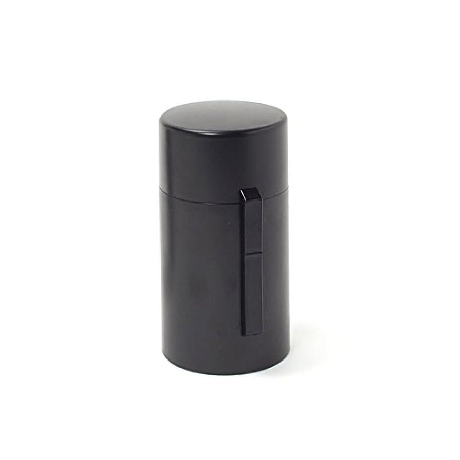 整然としたにもかかわらず拡大する電池式香炉 ひとたき香炉 こづつ 黒