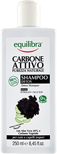 Equilibra Carbone Attivo Shampoo Detox, 250 ml