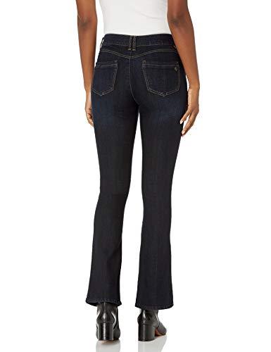 "Democracy Women's ""Ab""solution Itty Bitty Boot Jeans, Indigo, 12"