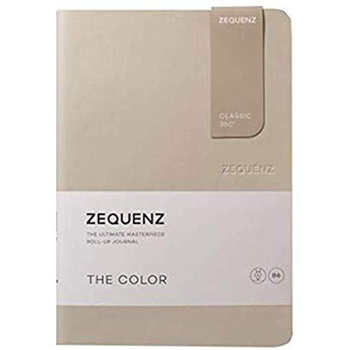 Zequenz Classic 360 The Color B6 Notebook, Dotted, Taupe