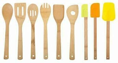 Utensil Set 9-Pc. New mail order Kitchen gadgets Apa decor kitchen Fixed price for sale aid