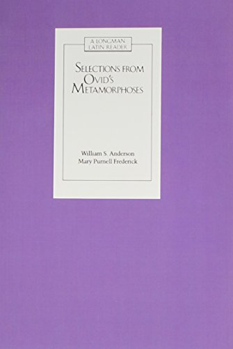 Selections from Ovid's Metamorphoses: Baucis and...