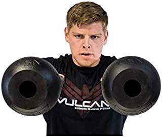 Vulcan Strength Training Systems Absolute Kettlebell with Black Powder Coated Handle