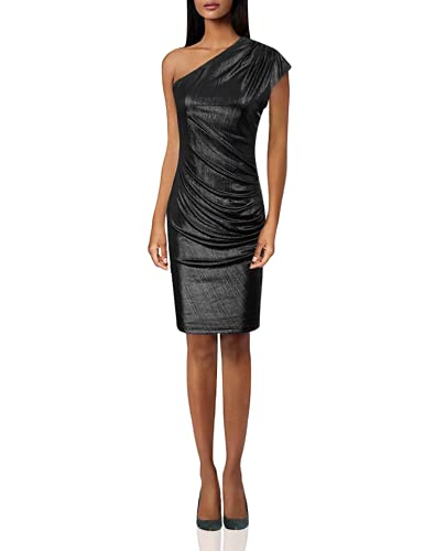 GRACE KARIN Womens Sequin Metallic Bodycon Cocktail Party Dress Mini Pencil Dress Black XL