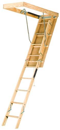 Louisville Ladder S254P 25.5X54X105 Wd ATC Stair, 7-Feet to 8-3/4-Feet