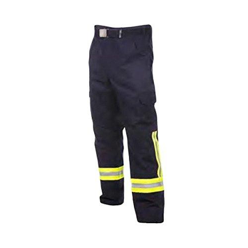 Feuerwehr Bundhose nach HuPF Teil 2mit Reflex nach DGUV-Empfehlung (wie Überhosen) mit Gürtel Gr. 56