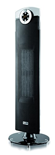 SENCOR SFH 9014 Design-keramische radiator (LED-display, 2 verwarmingsvermogen-opties - 1300/2500 Watt) zwart