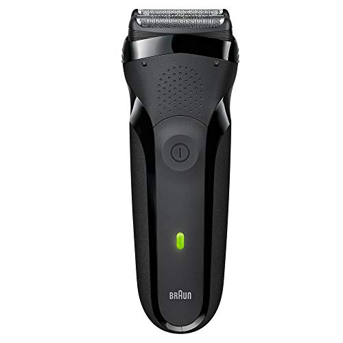 Braun Series 3 300s Men's Electric Shaver/Rechargeable Electric Razor, Black