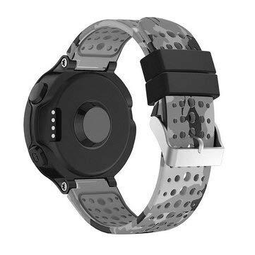 Sevenshop Silikon Smart Watch Ersatzarmband Armband Bandgürtel Für Garmin Forerunner 220/230/235 - B