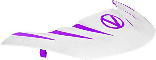 Stealth Paintball Maske Visier für Virtue VIO Contour/erweitern/Dye I4/Empire E-Flex-/V-Force Grill/Profiler und mehr, Violett / Weiß