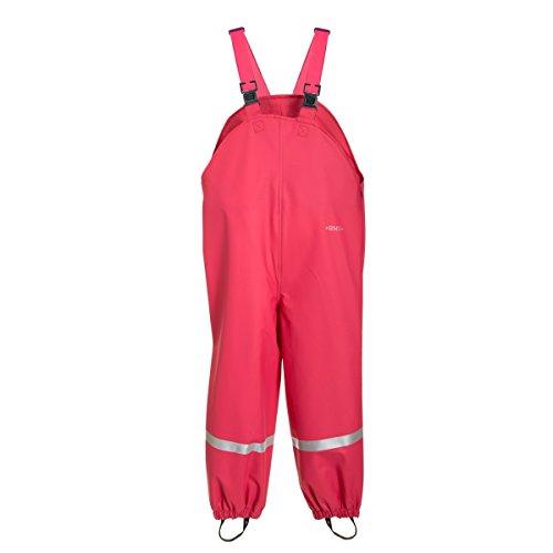 BMS Kinder Softskin atmungsaktive Buddel-Latzhose, Farbe:pink;Größe:98