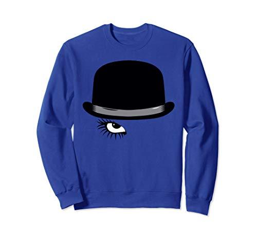 A Clockwork Orange Hat and Eye Sweatshirt