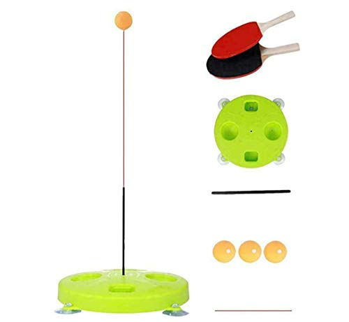Best Deals! Doloame Table Tennis Ping Pong Training Robot Fixed Rapid Rebound Trainer Equipment Indo...