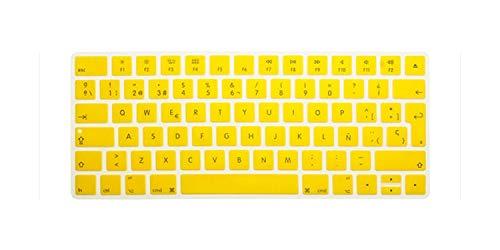 Funda de silicona para teclado español, Euro ESP para iMac Magic Magic 2, teclado Bluetooth PC PC PC PC Skin Protector-10-