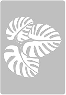 Reusable Plastic Wall Stencil //// 25.5 x 37.4 //// FLORAL PAISLEY //// Seamless Repetitive Allover Pattern Template