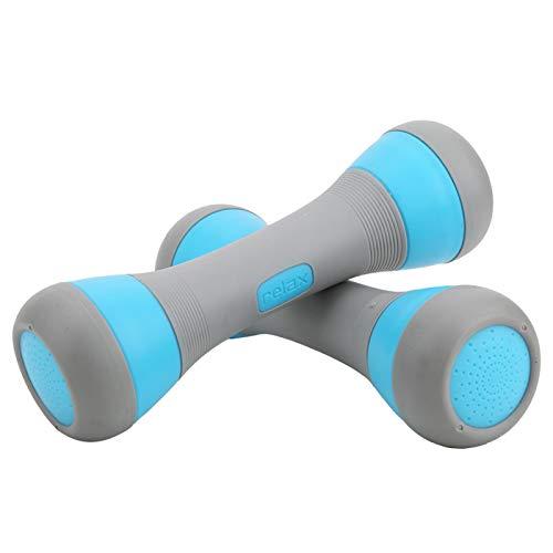 EBTOOLS1 Mancuerna Ajustable para Mujer, Equipo de Yoga con Mancuernas pequeñas para el hogar, Accesorio de Fitness, para modificar Las líneas musculares, Mejorar la Resistencia Muscular, etc.(Azul)