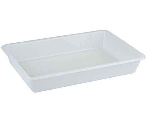 Rechteckschale aus Polyethylen, stapelbar und spülmaschinengeeignet, in 3 Größen | SUN (A1-30 x 21 x 6,5 cm)