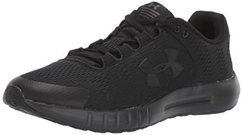 Under Armour Women's Micro G Pursuit BP Running Shoe, Black (001)/Black, 7