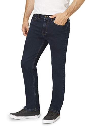 Paddock`s Herren Jeans Ranger - Slim Fit - Blau - Blue Black , Größe:W 44 L 30;Farbe:Blue Black (4701)