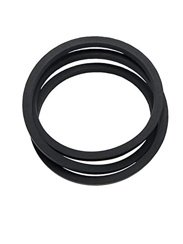 "Lawn Mower Belt 954/754-04043A for MTD Cub Cadet 754-04043 Transmission Drive Belt 954-04043 Replacement Drive Belt RZT42 RZT50 RZT54 Belt-Trans Drive 1/2"" X 57.5"""