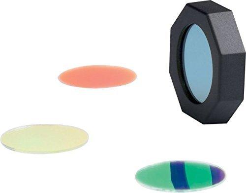 LED Lenser Linterna Juego de filtros (Rojo, Verde, Amarillo, Azul) para B7, H14, H14R, L7, L7e, M7, M7R, MT7, M8, P7, T7