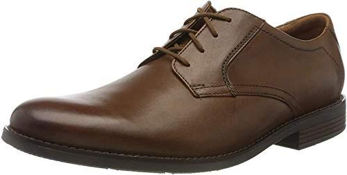 Clarks Becken Lace, Zapatos Cordones Brogue Hombre