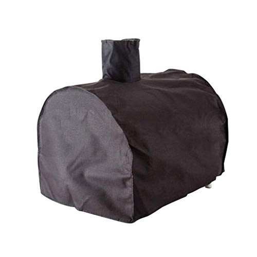 Furniture Cover, Pizza Oven Cover Tarpaulin Rain Cover To Avoid Rain And Snow Weather Damage Oxford Cloth Waterproof Cover (Color : Black, Size : 57x43x51cm)