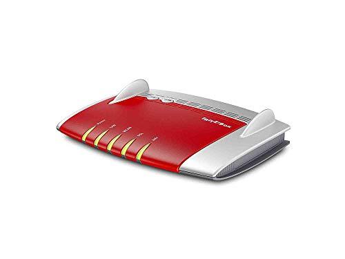 AVM FRITZ! Box 3490 International Modem Router Wireless, AC1750 Dual Band, ADSL2+, Fibra (VDSL), 4 LAN Gigabit, Modalità Router con WAN in LAN 1, 2 USB 3.0, Software e Istruzioni in Italiano