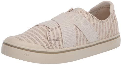 KEEN Women's ELSA IV Gore Slip-ON Sneaker, Black, 6.5