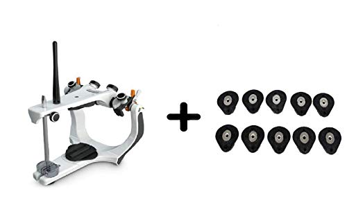 Great Price! Aphrodite Dental Articulator A7 Plus Semi-Adjustable, Facebow and 10 Mounting Plates (X...