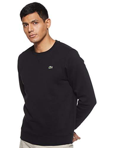 Lacoste Sport Herren SH7613 Sweatshirt, Schwarz (Noir), Large (Herstellergröße: 5)