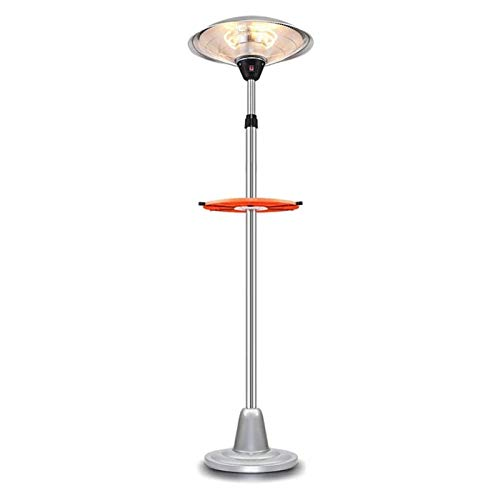 Electric Indoor and Outdoor Portable Heater, 3 high-Power Freely Adjustable with Shelf, Independent Terrace Waterproof Heater.