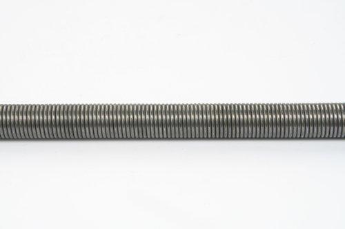 WAMO 1 m Zugfeder 1,5 mm Draht 16 mm Federdurchmesser ohne Öse Stahlfeder