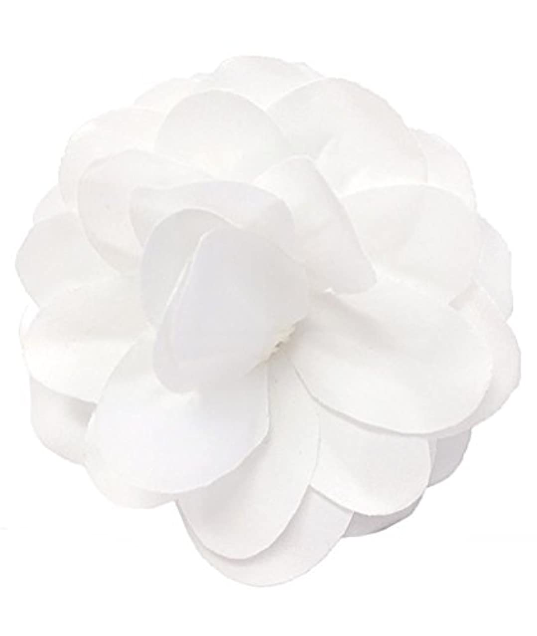 Cuteque International SOPHISICATED Light Weight Velvet Wedding Gardenia 3-Packed, White
