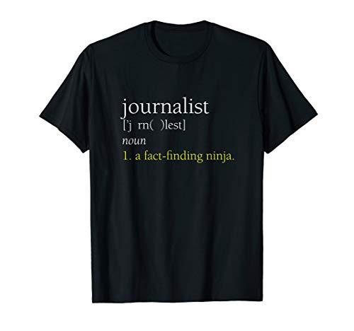 Journalist Definition Shirt, Press On Political Gift