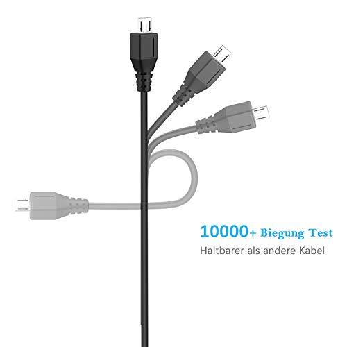 NEUE DAWN Micro USB 5V 3000mA / 3A Netzteil Ladegerät für Raspberry Pi 3 Pi 2 Modell B Modell B Plus, Banana Pi,JBL Flip2/3, Philips BT 50/BT 110, Kindle, Smartphones,Android Tablet,Bose Soundlink