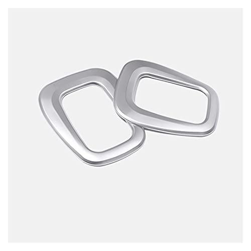 ZHANGHUA Botón de Ajuste Trasero del Tercer Asiento de Chrome Botón de Ajuste Decorativo Cubierta de Ajuste de Ajuste para BMW 2 Series Turer Activo F45 Accesorios Interiores