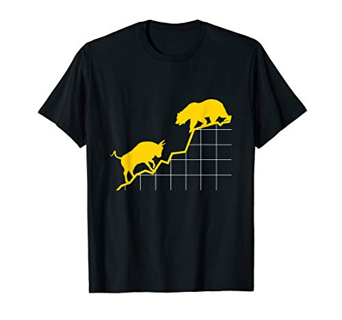 Bulle vs Bär I Aktien Börse Stock Market ETF Kapital T-Shirt