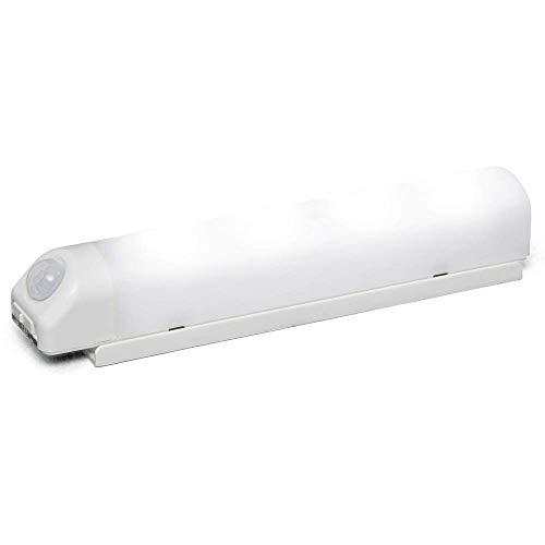 アイリスオーヤマ 乾電池式屋内LEDセンサーライト ウォールタイプ BSL40WN-WV2 【まとめ買い3個セット】