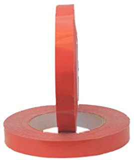 "Tach-It 34-180 Red 3/4"" Wide Bag Sealing Tape (Pack of 12)"