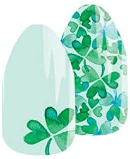 Jamberry SKINNIES Nail Wraps - Shamrock Party - 18 Wraps + Nail File- 1 Manicure- No Heat Required