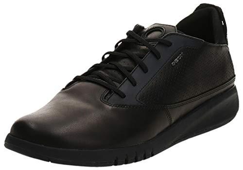 Geox Herren U AERANTIS Sneaker, Black U927fa00043c9997, 44 EU