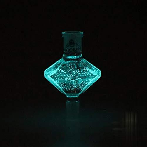 Molassefänger CRYSTAL WOODOO von THE HOOKAH Shisha Vorkühler-Aufsatz Molasse fänger Molassenfänger Glas ALLE mit 18 8 SCHLIFF - Wasserpfeife